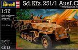 Полугусеничный бронетранспортер Sd.Kfz. 251/1 Ausf. C w/ launchframe 40