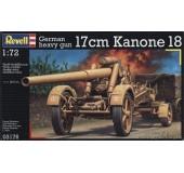 Немецкое тяжёлое орудие 17cm Kanone 18