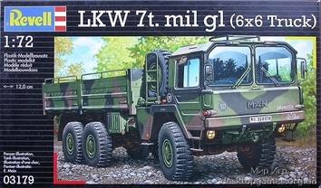 Военный грузовик MAN 7t milgl (1977-1983гг.,Германия)