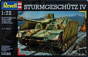 Танк Sturmgeschutz IV (Штурмгешютц), 1944г.Германия