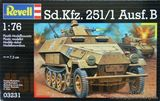 Полугусеничный бронетранспортер Sd. Kfz. 251/1 Ausf.B