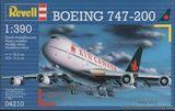 Пассажирский самолёт Боинг 747  Air Canada