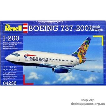 Пассажирский самолёт Боинг 737-200  British Airways