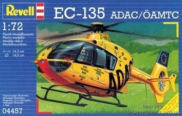 Вертолет EC-135  ADAC/OAMTC