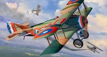 Самолет (1917г.,Франция) Spad XIII WW1 Fighter