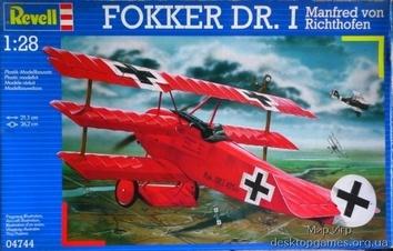 """Триплан Fokker Dr. I  """"Красный барон"""""""