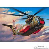Тяжёлый транспортный вертолёт Sikorsky CH-53G