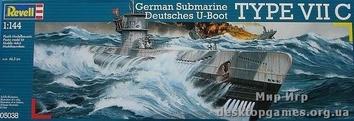 Немецкая подводная лодка Typе VIIC