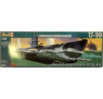 Немецкая подводная лодка U-99