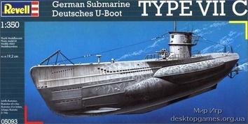 Подводная лодка U-Boot Typ VIIC