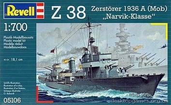 """Эсминец Z-38, тип """"Нарвик"""""""