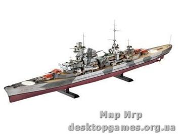 Тяжелый крейсер Kreuzer Admiral Hipper.
