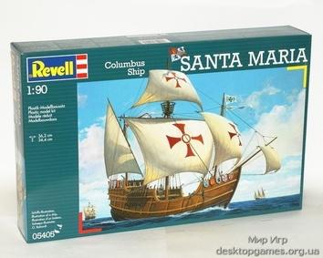 Парусное судно Santa Maria