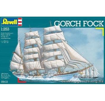 Трехмачтовый барк Gorch Fock