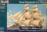Парусный фрегат Portuguese Fregate  D. Fernando II e Gloria