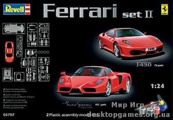 """Подарочный набор с автомобилями """"Ferrari """"Enzo"""" и """"F430"""""""""""