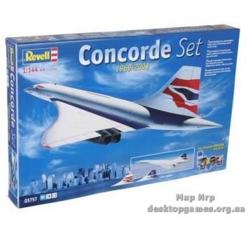 Подарочный набор с самолетом Concorde BA