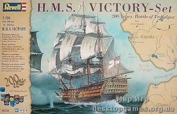 """Подарочный набор с флагманским кораблем """"HMS Victory"""""""