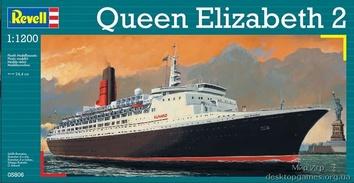 Круизное судно  Queen Elizabeth II