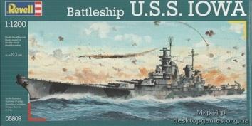 Линейный корабль U.S.S. Iowa