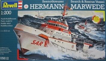 Корабль DGzRS Hermann Marwede