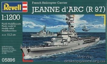 Крейсер-вертолетоносец Jeanne d Arc (R97)