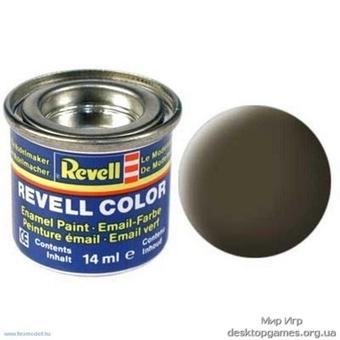 Краска Revell эмалевая, № 40 (черно-зеленая матовая)