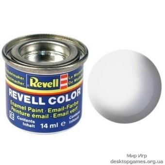 Краска Revell эмалевая, № 301 (белая шелковисто-матовая)