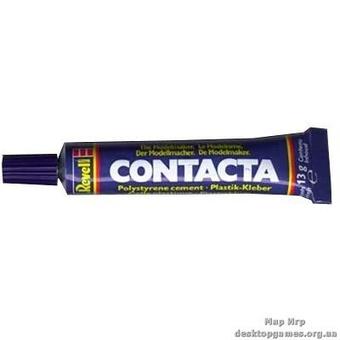 Желеобразный клей  в тюбике Contacta, cement 13г в тюбике