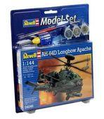Model Set Вертолет AH-64D Longbow Apache, 1:144