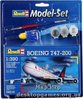 Model Set Самолет Boeing 747-200