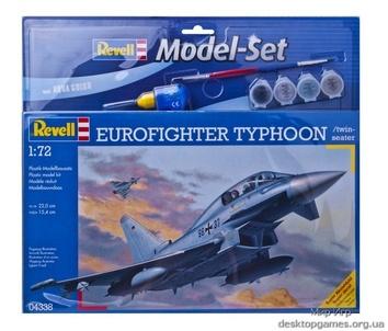 Истребитель Еврофайтер Тайфун