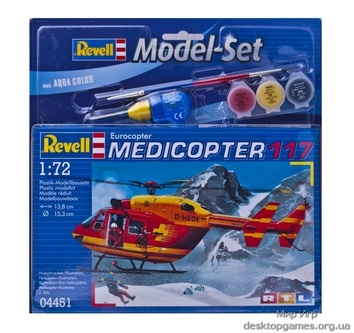 Вертолет Medicopter 117