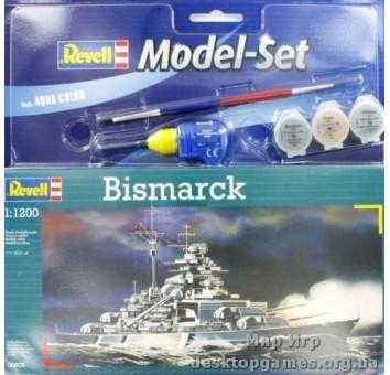 Model Set Линейный корабль (1939-1941гг.,Германия) Bismarck