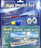"""Model Set Крейсер-вертолетоносец Jeanne d""""Arc (R97)"""