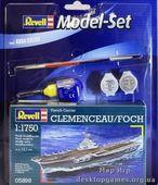 "Model Set Корабль French Aircraft Carrier ""Clemenceau"""