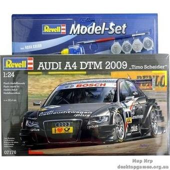 Model Set Автомобиль (2009г., Германия) Audi A4 DTM 2009