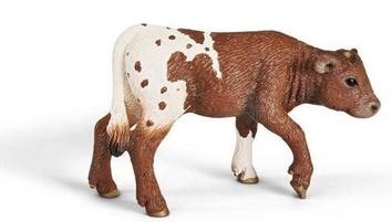 """Игрушка-фигурка """"Техасский теленок лонгхорн"""""""