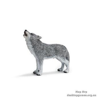 "Игрушка-фигурка ""Воющий волк"""