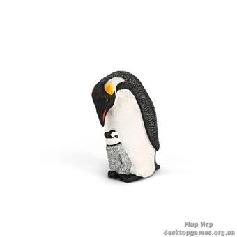 """Игрушка-фигурка """"Пингвин с пингвиненком"""""""