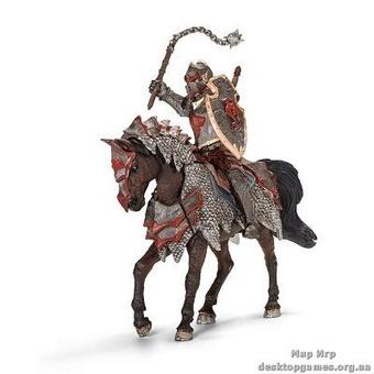 """Детская игрушка """"Рыцарь Дракона с боевой палицей верхом на коне"""""""