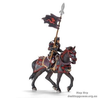 """Детская игрушка """"Рыцарь Дракона с копьем верхом на коне"""""""
