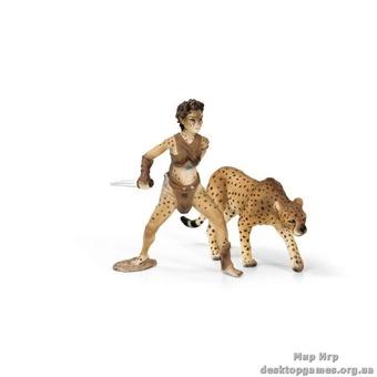 """Игрушка-фигурка """"Леопард-оборотень Лиса"""""""