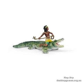 "Игрушка-фигурка ""Крокодил-оборотень Кенок"""