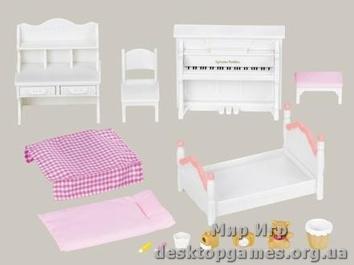"""Набор """"Спальня для девочки и Сестра Кролика"""""""