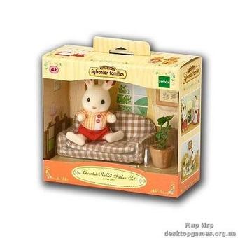 "Набор ""Отец Шоколадного Кролика на диване"""