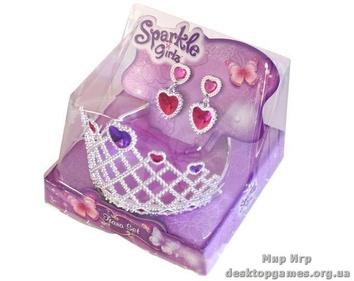 Диадема маленькой принцессы с клипсами (в ассорт. 2 шт.)