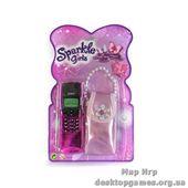 Телефон со звуковыми эффектами с сумочкой принцессы (в ассорт. 2 шт.)