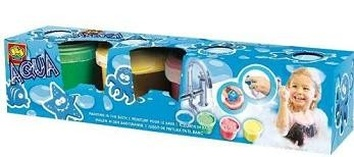Набор для игры в ванной Гуашь со Штампами.
