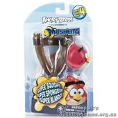 Набор Angry Birds S4 crystal - Рогатка с машемсом (птичка новая красная)